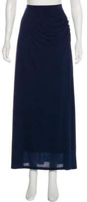 Magaschoni Jersey Maxi Skirt