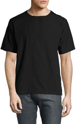 Timo Weiland Men's Solid Short Sleeve T-Shirt