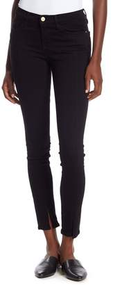 Frame Le Skinny de Jeanne Split Hem Denim Jeans