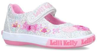 Lelli Kelly Kids Glitter Daisy Shoes