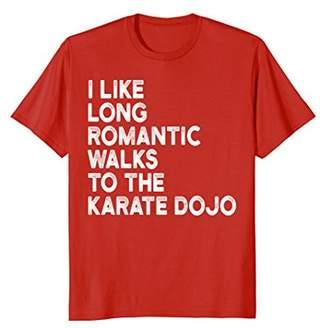I like long walks to the Karate Dojo T Shirt
