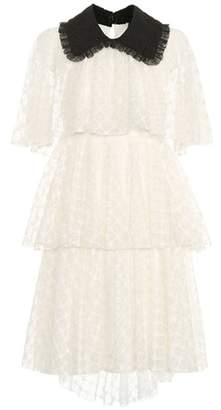 Philosophy Di Lorenzo Serafini Tiered lace dress