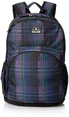 Volcom Fieldtrip Poly Bkpk, Women's Backpack, Schwarz (Black Combo), 18x31x45 cm (B x H T)