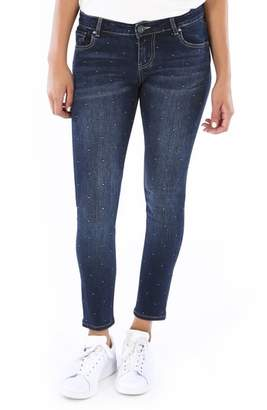 KUT from the Kloth Donna Dot Ankle Skinny Jeans