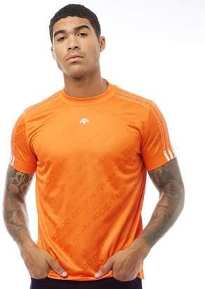 adidas x Alexander Wang Mens Soccer Jersey Super Orange