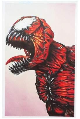 Marvel Nerd Block Carnage 8x10 Art Print by Lee Howard (Nerd Block Exclusive)