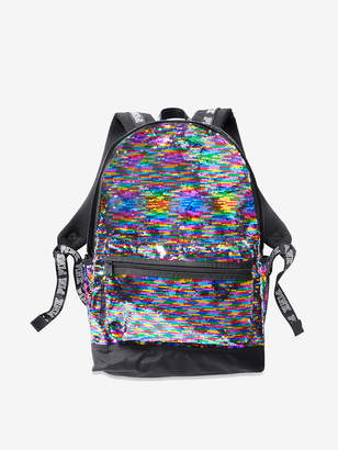PINK Bling Campus Backpack