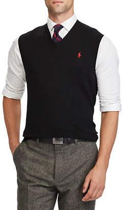 Polo Ralph Lauren Cotton V-Neck Vest
