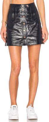 Tommy Hilfiger TOMMY X GIGI Mini Skirt $325 thestylecure.com