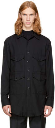 Song For The Mute Black Four Pocket Shirt