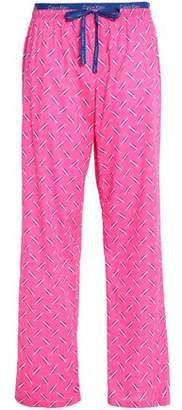 Calvin Klein Printed Cotton-Jersey Pajama Pants