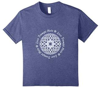 Love Trumps Hate Sacred Geometry T Shirt