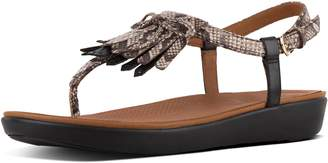 FitFlop Tia Fringe Leather Sandals