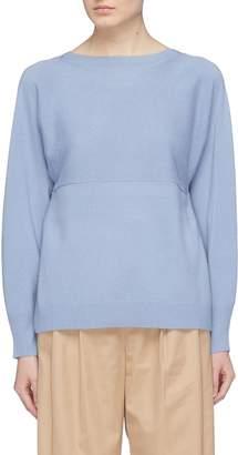 Vince Split hem wool-cashmere sweater
