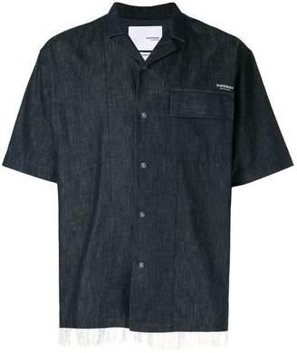 Yoshio Kubo Yoshiokubo denim camp collar shirt