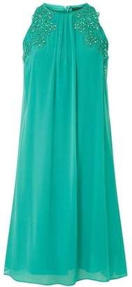 Dorothy Perkins Womens **Showcase Aquamarine 'Lily' Trapeze Dress