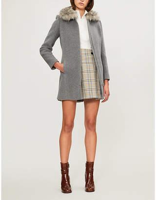 Claudie Pierlot Gilles Bis wool-blend coat
