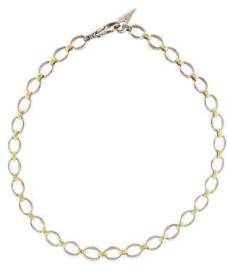 Lagos Two-Tone Chain Necklace