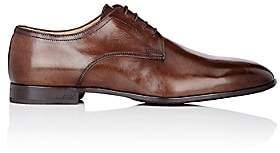 Barneys New York Men's Plain-Toe Bluchers-Dk. brown