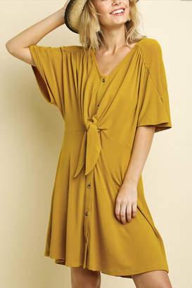 Umgee USA Button Front Dress