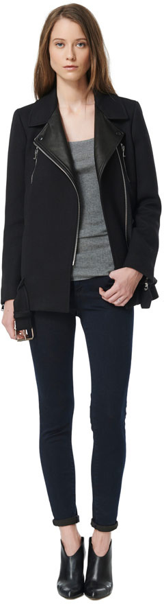 Rebecca Taylor Double Pocket Coat