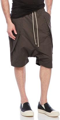 rick owens Anthem Cargo Pod Shorts $672 thestylecure.com
