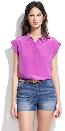 Silk singalong top