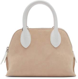Lanvin Pink and White Mini Magot Bag