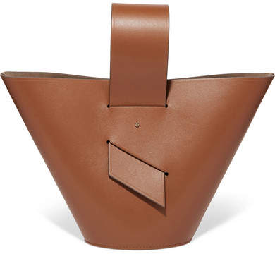 Carolina Santo Domingo - Amphora Leather Tote - Tan