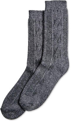 Hue Cable-Knit Boot Socks