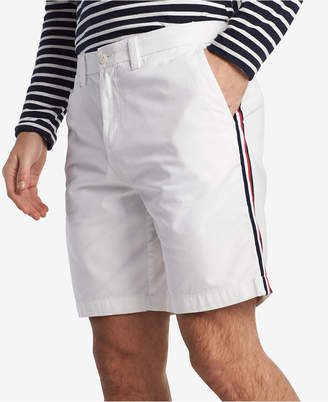 """Tommy Hilfiger Men's Side Stripe 9"""" Chino Shorts, Created for Macy's"""