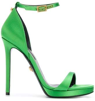 Versace open toe pumps