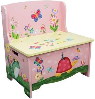 Fantasy Fields by Teamson Magic Garden Storage Bench