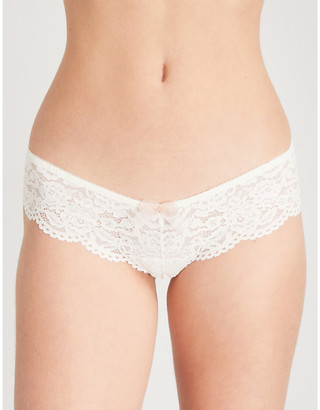 B.Tempt'd Ciao Bella lace tanga briefs