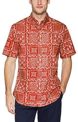 Reyn Spooner Men's Original Lahaina Weekend Wash Tailored Fit Hawaiian Shirt