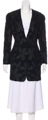 Christian Dior Embroidered Short Coat