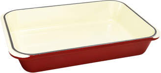 Red Chasseur 40cm Rectangular Cast Iron Roaster