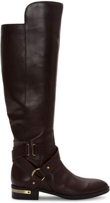 Vince Camuto Preshent Brunette Leather Tall Boots