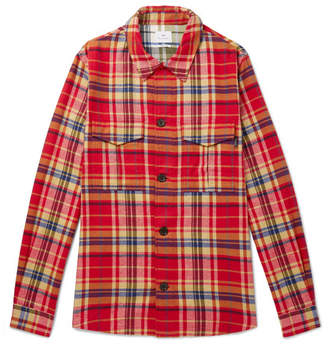Paul Smith Checked Cotton-Flannel Shirt