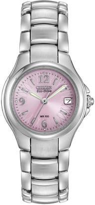 Citizen 28mm Eco-Drive Bracelet Watch, Pink