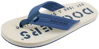 b0d8ea68b7ec Dockers Toe Bar Logo Flip-Flops