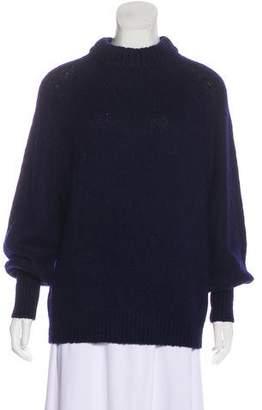 Tibi Wool-Blend Rib Knit Sweater