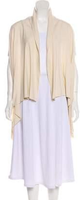 Donna Karan Sleeveless Open Front Vest