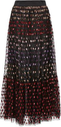 Temperley London Wendy Sequin Tulle Skirt