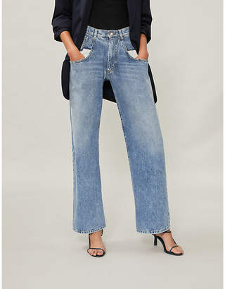 Maison Margiela High-rise straight-leg jeans