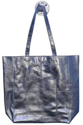 Latico Leathers Amelia Metallic-Leather Tote