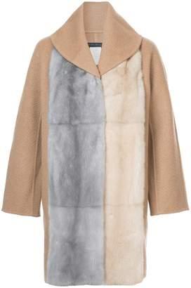 Fabiana Filippi fur cape coat