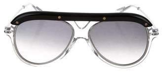 Roland Mouret Hudson Aviator Sunglasses w/ Tags