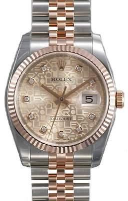 Rolex Oyster Perpetual Datejust Jubilee Automatic Men's Watch 116231PJDJ