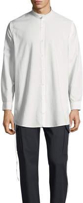 Private Stock Men's Ull Mandarin-Collar Button-Front Shirt